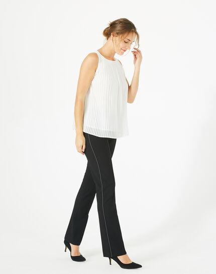 Pantalon de tailleur noir Vilona PhotoZ | 1-2-3