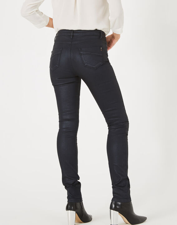 Pantalon bleu marine enduit William (5) - 1-2-3
