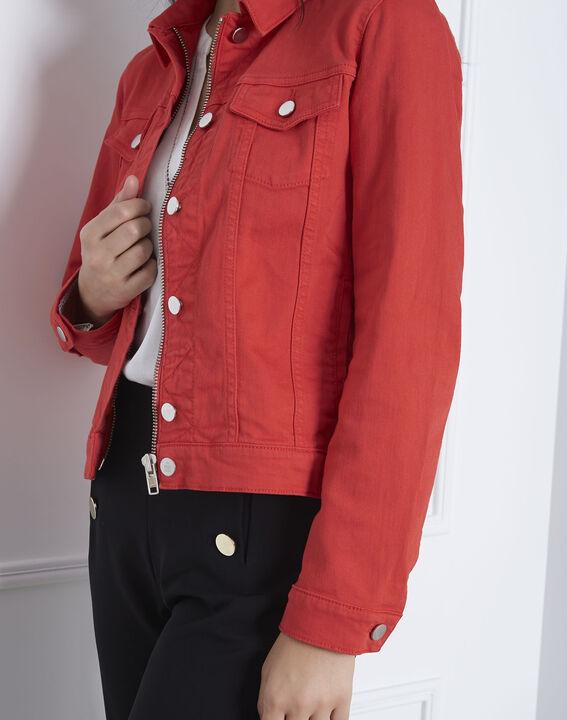 Rote Jeansjacke Clem (3) - Maison 123