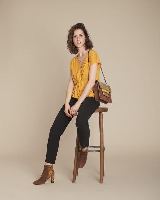bd24a58792b3 Pantalons – Pantalons droits, 7 8, fluides, tailleurs...- Maison 123
