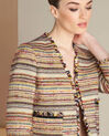 Citrouille tweed jacket with patch pockets (1) - 1-2-3