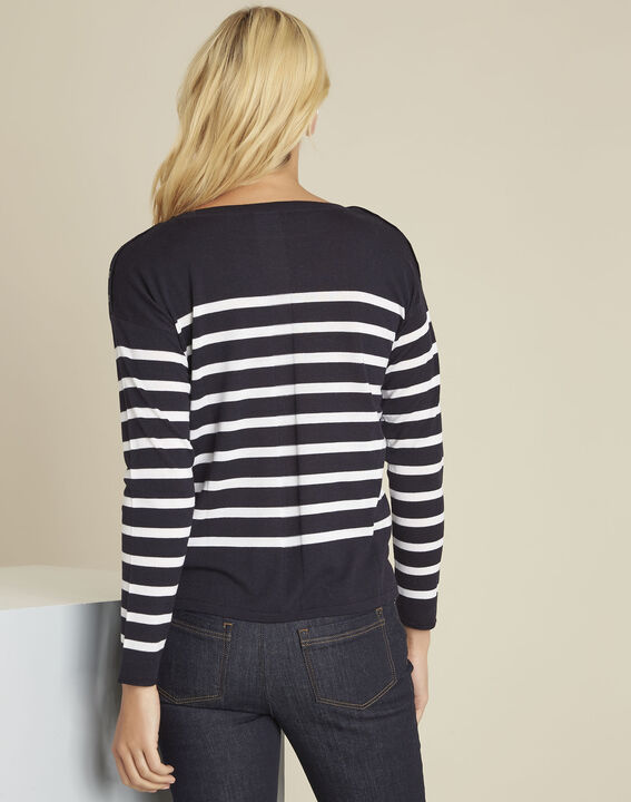 Baltimore striped wool pullover (4) - Maison 123