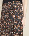 Astuce black skirt with an animal hide print  (3) - 1-2-3