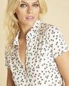 Weißes Print-T-Shirt Laura (3) - 1-2-3