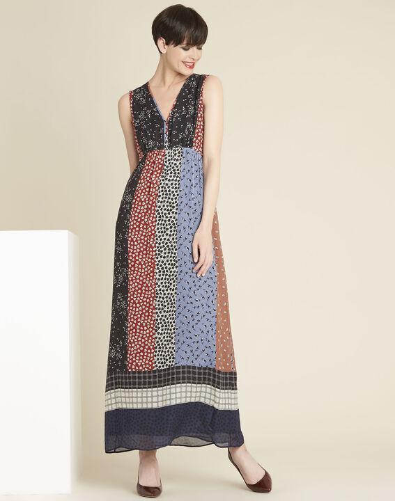 Lange jurk met bloemenprint Dotty PhotoZ | 1-2-3