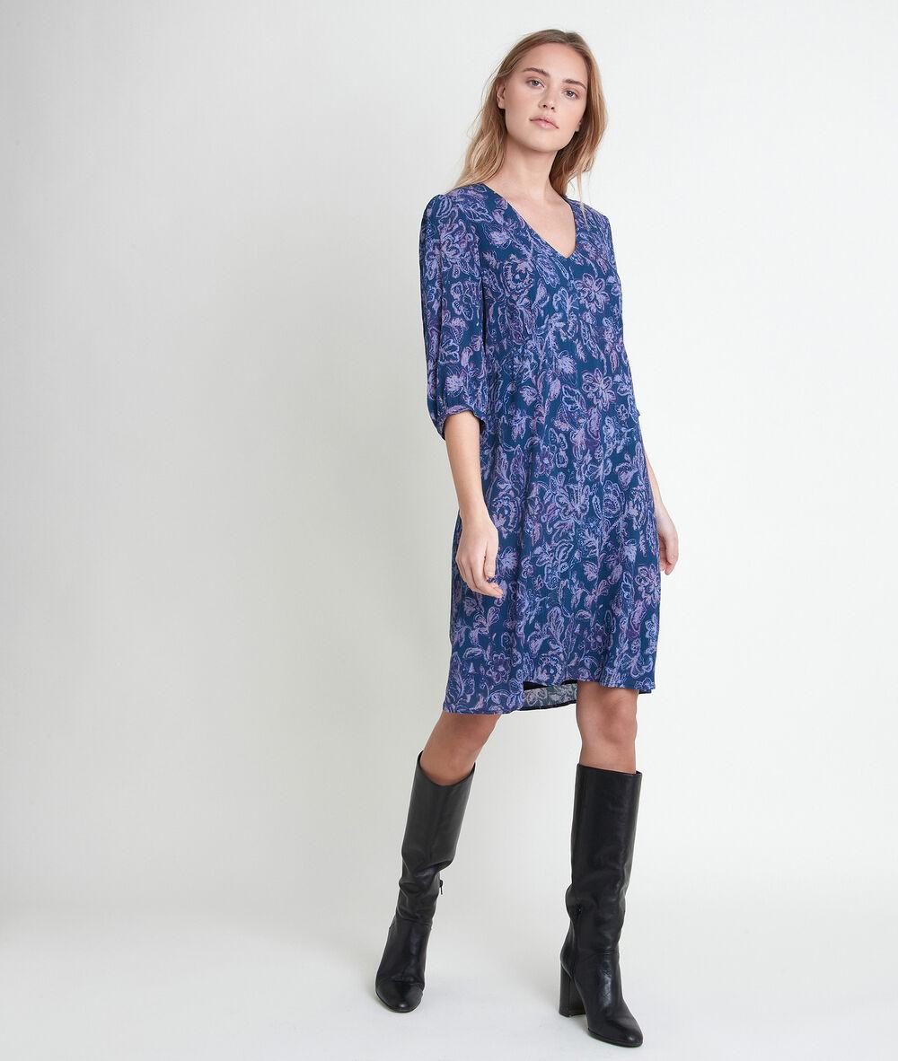 kleider für damen : city elegantes kleid, kurzes seidenkleid