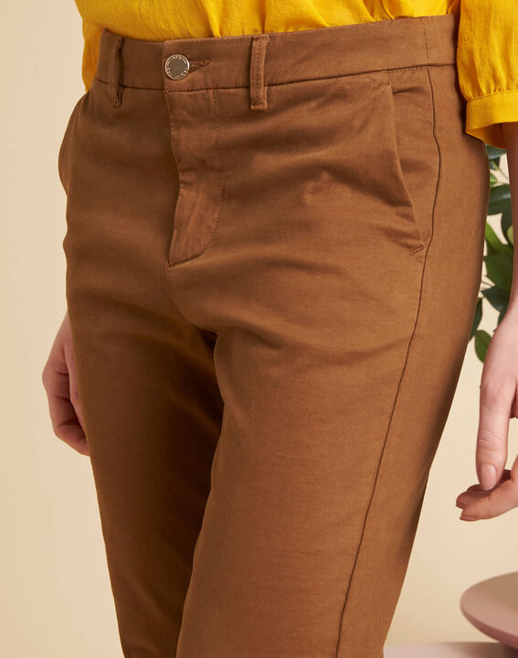 Valentin chestnut chino trousers PhotoZ | 1-2-3