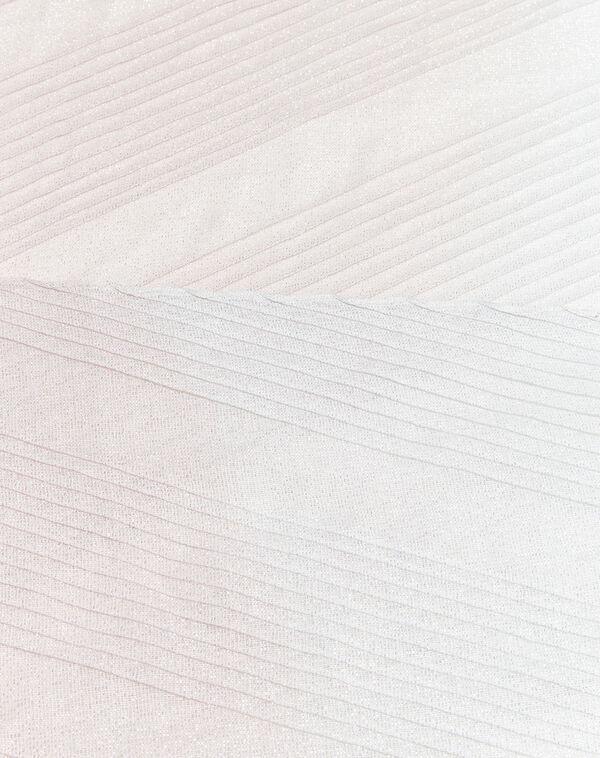 Nude iriserende sjaal French (1) - 37653