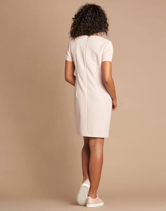 Blassrosa Kleid mit Ösen Adélie bis (4) - 1-2-3