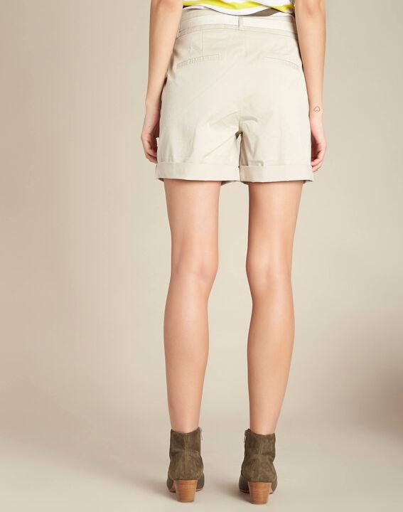 Ecrufarbene Baumwoll-Shorts James (4) - 1-2-3