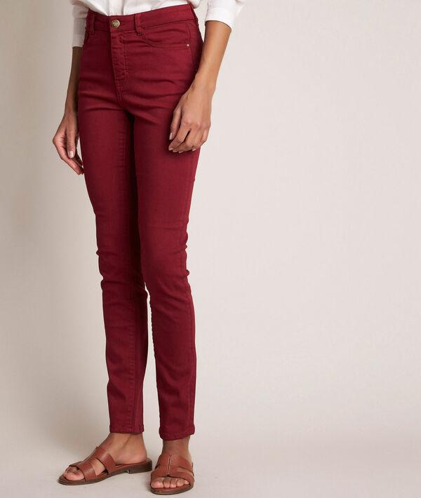 L'iconique slim : jean rubis Suzy  PhotoZ   1-2-3