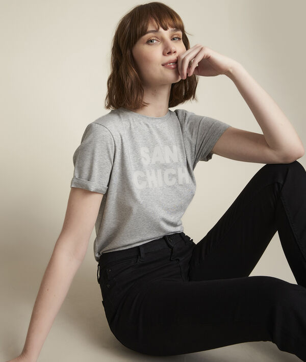 Tee-shirt à message Rebelle PhotoZ | 1-2-3