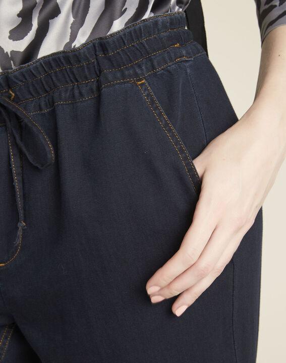Pantalon marine slim à cordon Helory (3) - 1-2-3