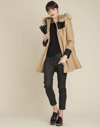 Schwarzer pullover mit strass brio schwarz.