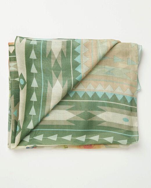 Adenora garden printed scarf (1) - 1-2-3