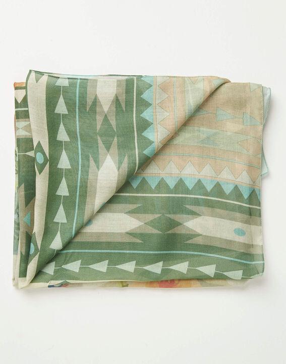 Adenora garden printed scarf PhotoZ | 1-2-3