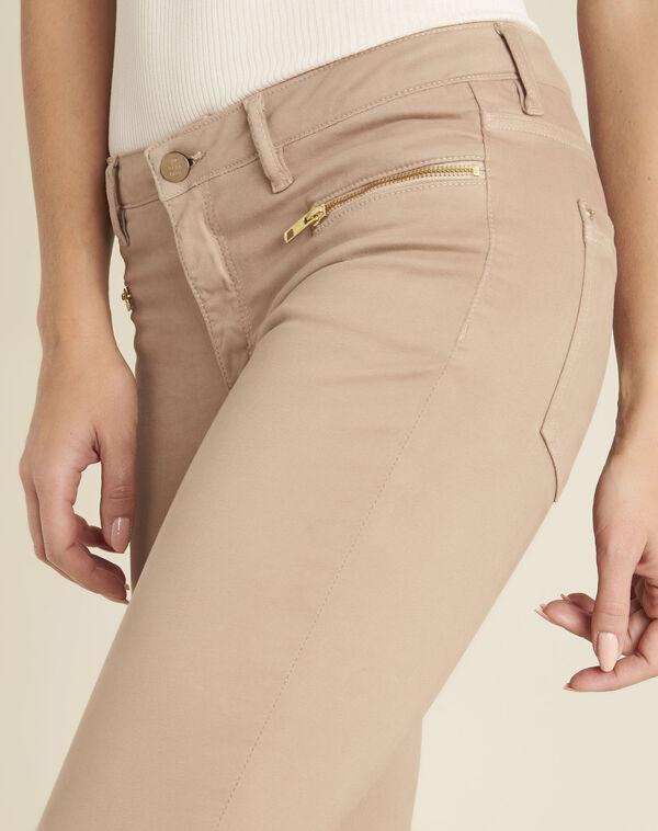 Jean rose droit poches zippées Germain (2) - 1-2-3