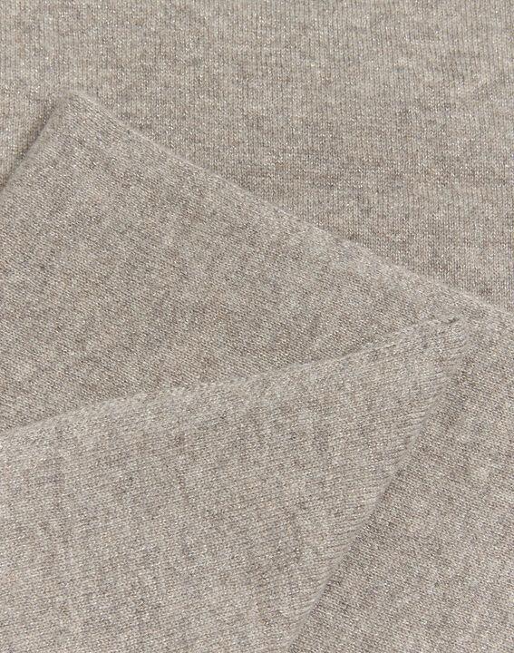 Felicia taupe cashmere scarf (2) - 1-2-3