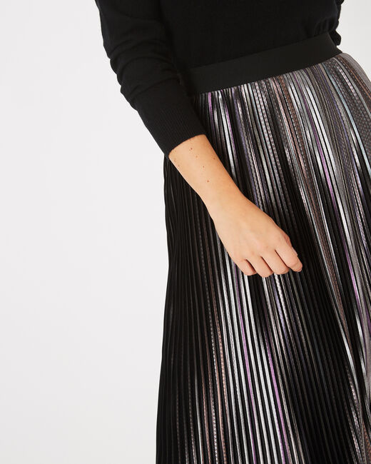 Fly trendy pleated skirt (2) - 1-2-3