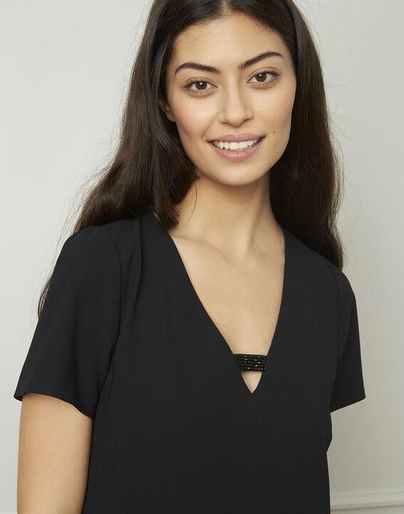 Zwarte jurk met sieraad Noel (4) - 37653