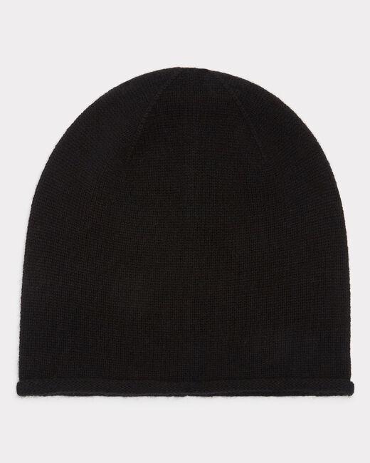 Bonnet noir en cachemire Tilleul (1) - 1-2-3
