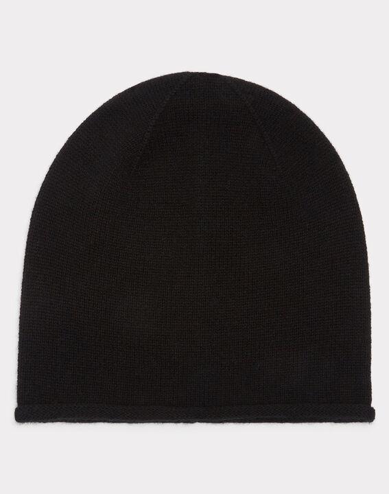 Bonnet noir en cachemire Tilleul PhotoZ | 1-2-3