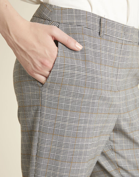 Natura grey trousers with Prince of Wales design (3) - 1-2-3