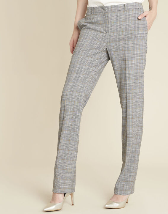 Natura grey trousers with Prince of Wales design PhotoZ | 1-2-3