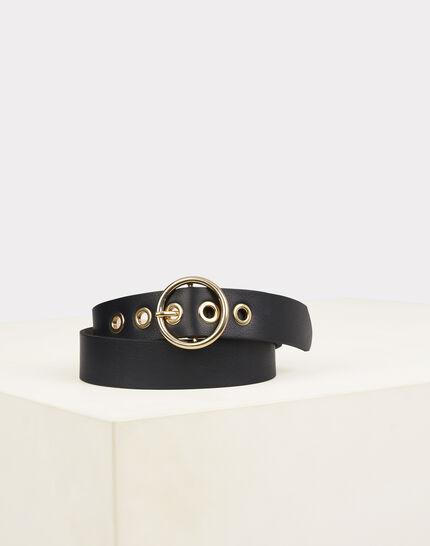 Olivia chic black leather belt (2) - 1-2-3