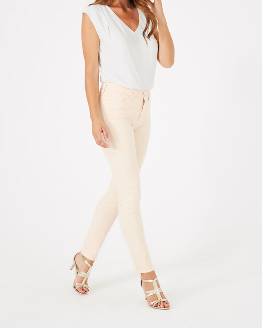 Oliver 7/8 length pale pink trousers (2) - 1-2-3
