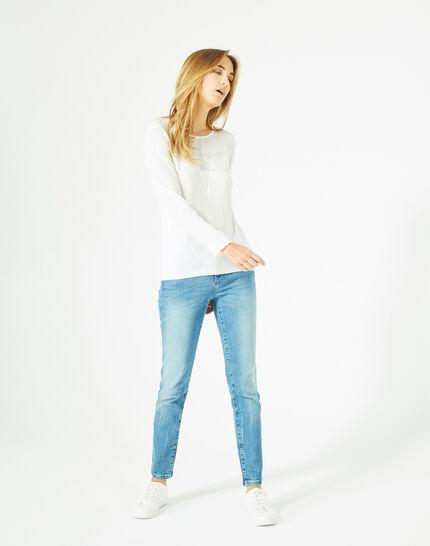 Paloma off-white cashmere mix sweater (1) - 1-2-3
