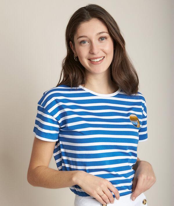 Tee-shirt rayé Rhita PhotoZ   1-2-3
