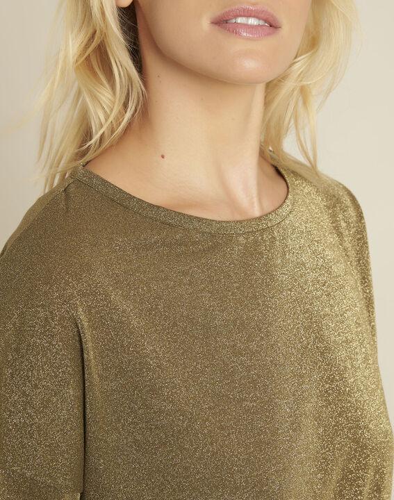 Galway khaki lurex t-shirt (3) - 1-2-3