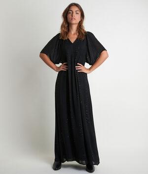 Lange jurk met lovertjes Noaki
