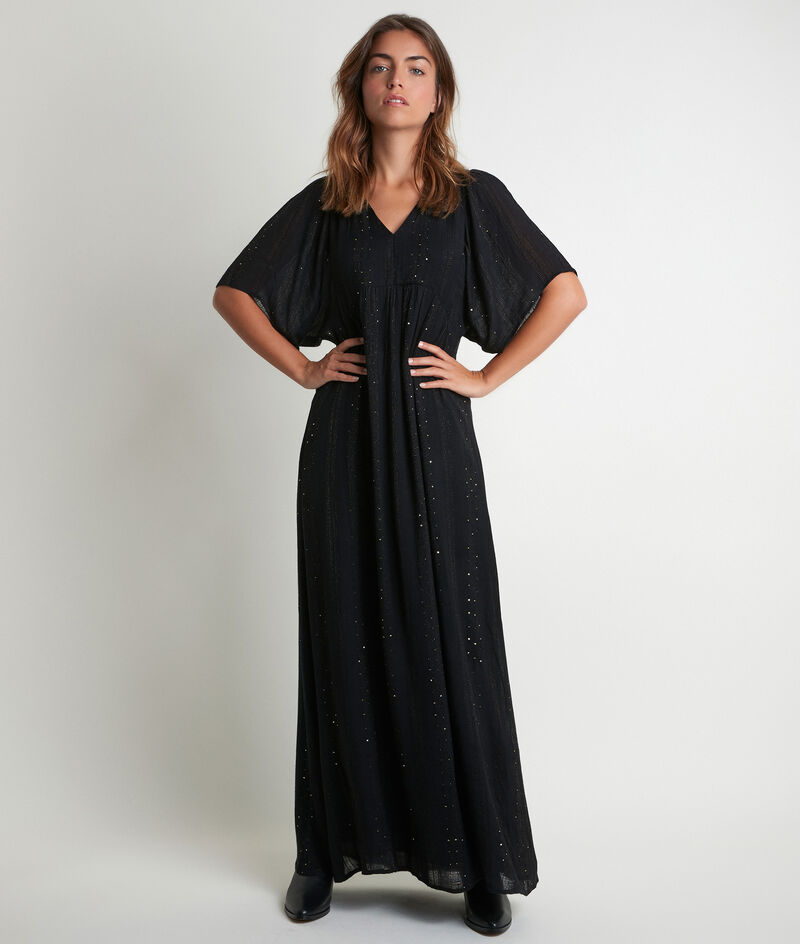 Robe longue sequins Noaki PhotoZ | 1-2-3