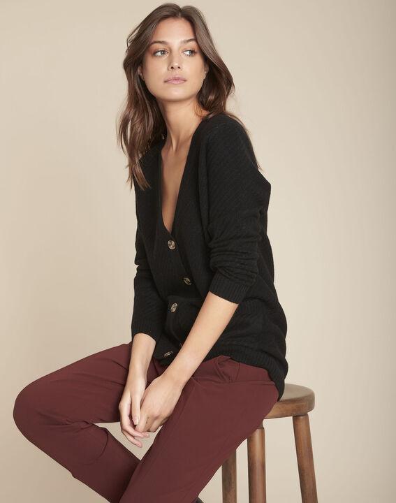 Gilet en laine noir Frimas PhotoZ | 1-2-3