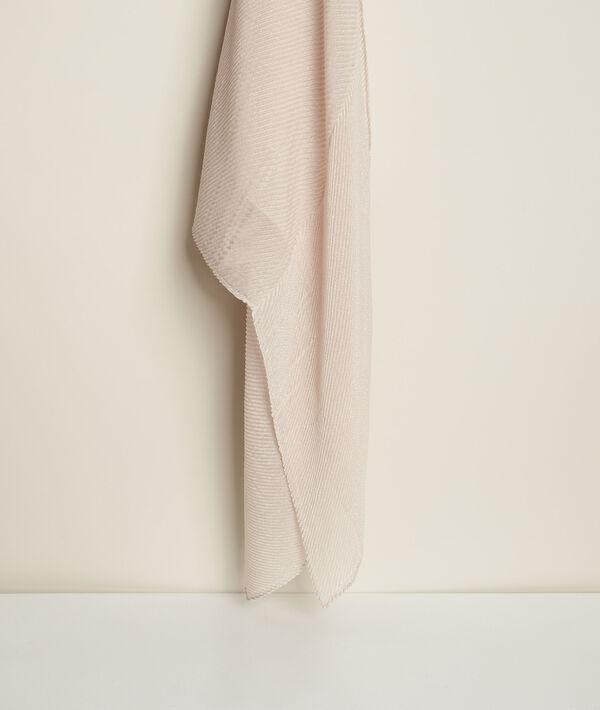Foulard plissé lurex Greta PhotoZ   1-2-3