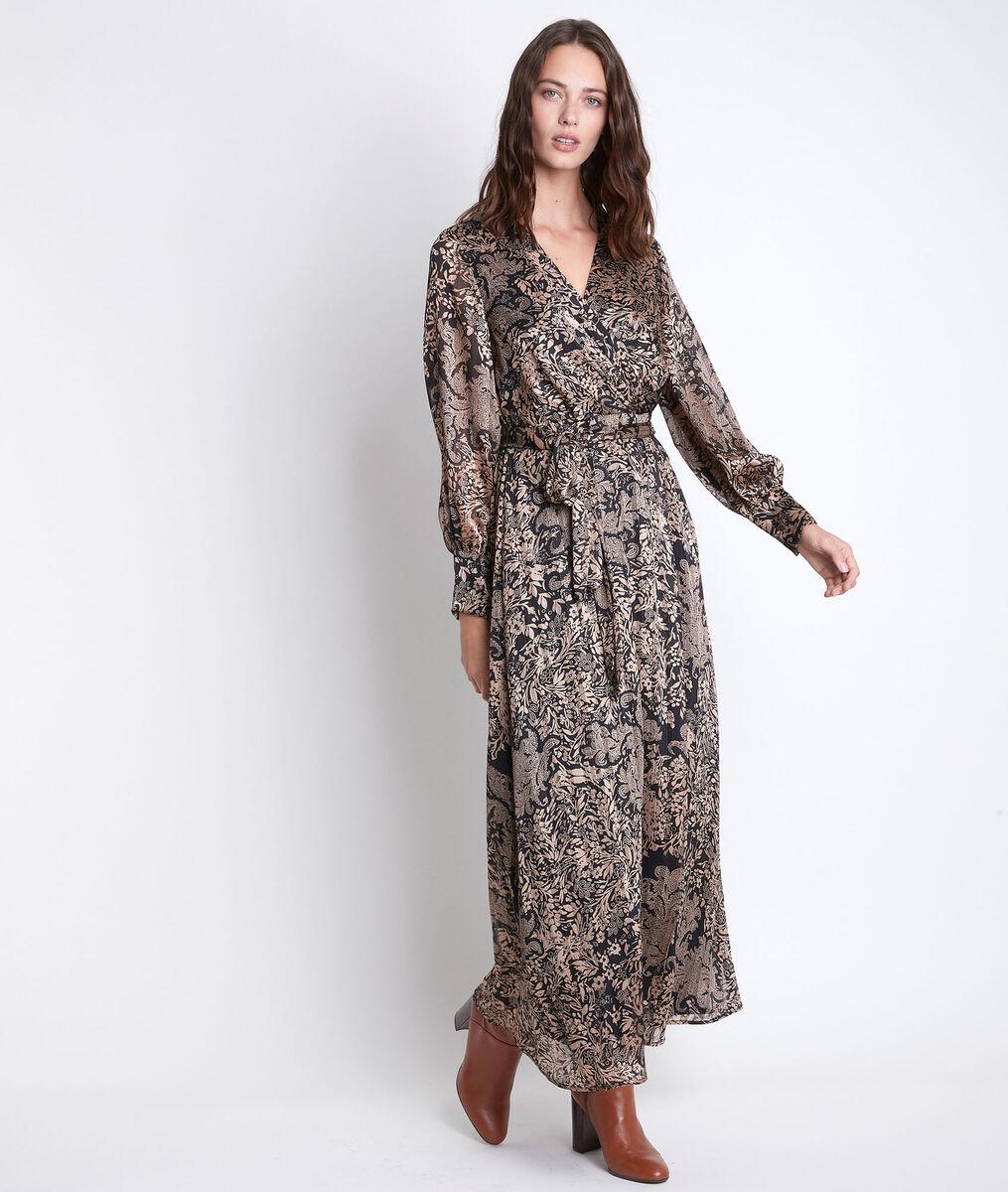 Robe longue imprimée Cathel PhotoZ | 1-2-3