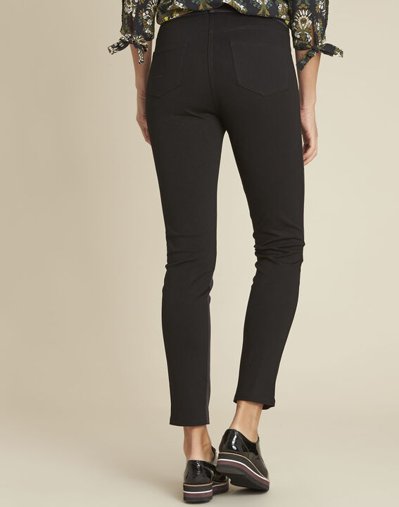 Pantalon noir slim Handy (4) - 1-2-3