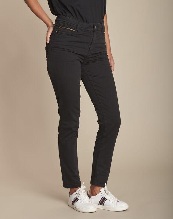 L'Iconique : jean slim  noir Sultan PhotoZ | 1-2-3