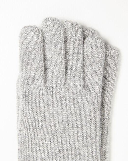 Gants gris en cachemire Ustavio (2) - 37653