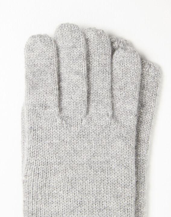 Gants gris en cachemire Ustavio (2) - 1-2-3