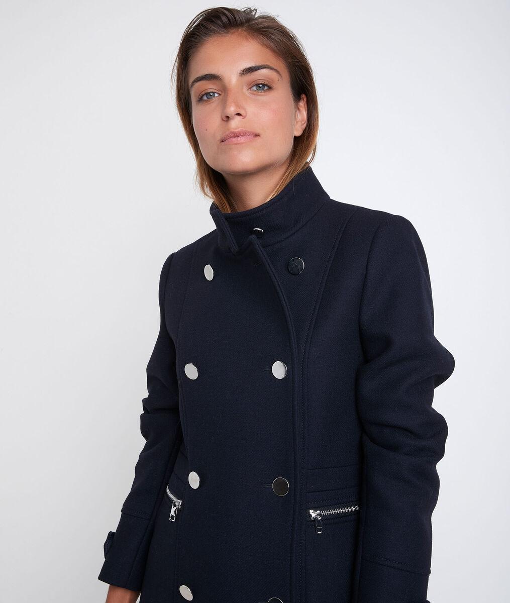 Manteau en laine recyclée  Orino PhotoZ | 1-2-3