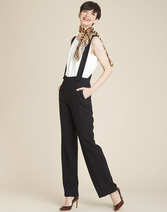 Pantalon à bretelles noir Hamlet (3) - 1-2-3
