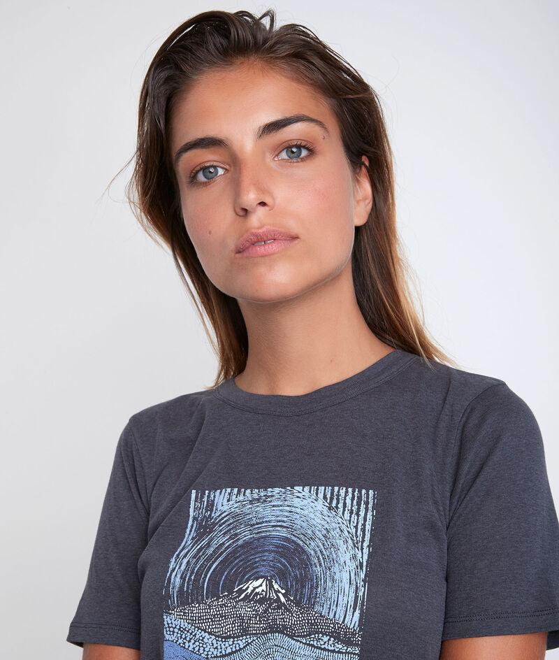 Tee-shirt imprimé en polyester recyclé Djack PhotoZ | 1-2-3