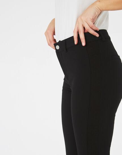 Pantalon noir slim Kali (1) - 1-2-3