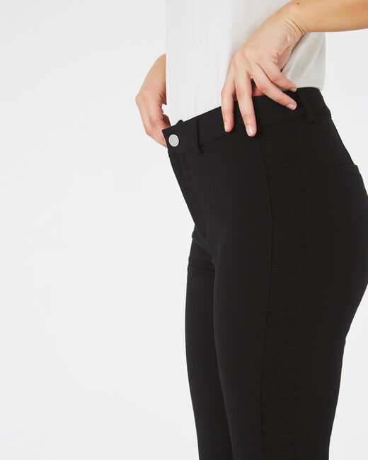 Kali black slim-cut trousers (2) - 1-2-3