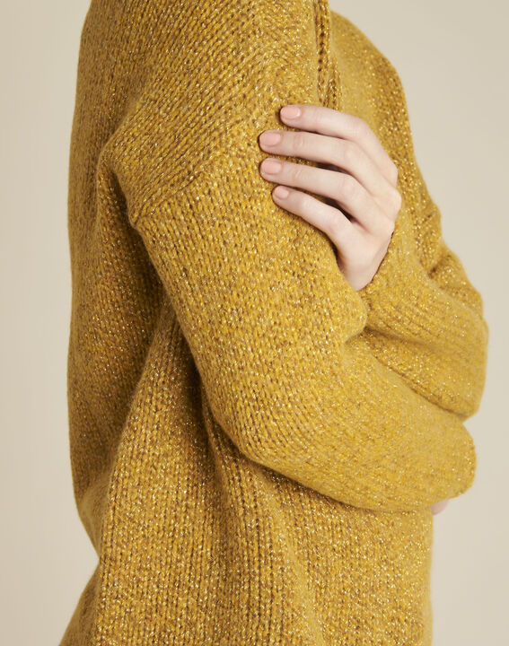 Bagno yellow turtleneck wool mix pullover (3) - 1-2-3