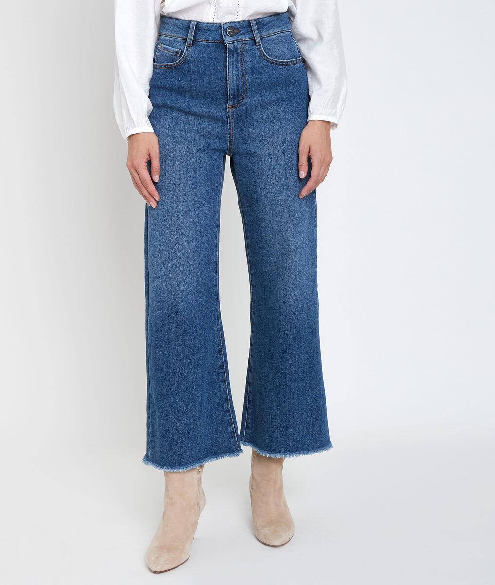 Jean wide leg en coton recyclé Pina PhotoZ | 1-2-3