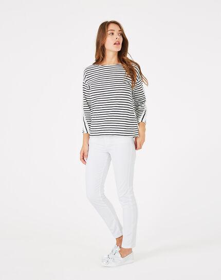 Tee-shirt rayé en coton Babord (3) - 1-2-3